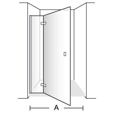 Распашная дверь Subway DW0090SUB110LGV-61